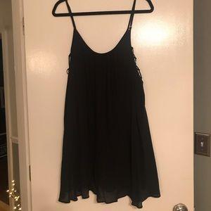Kimchi Blue Urban Outfitters black mini dress